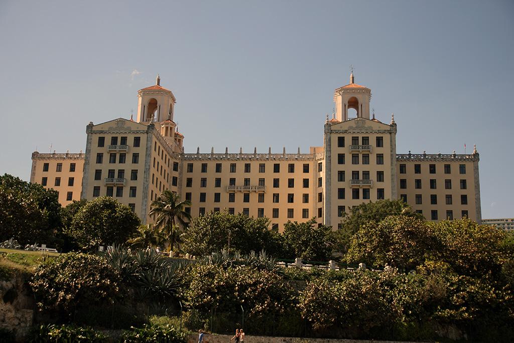 Hotel Nacional sett från Malecon