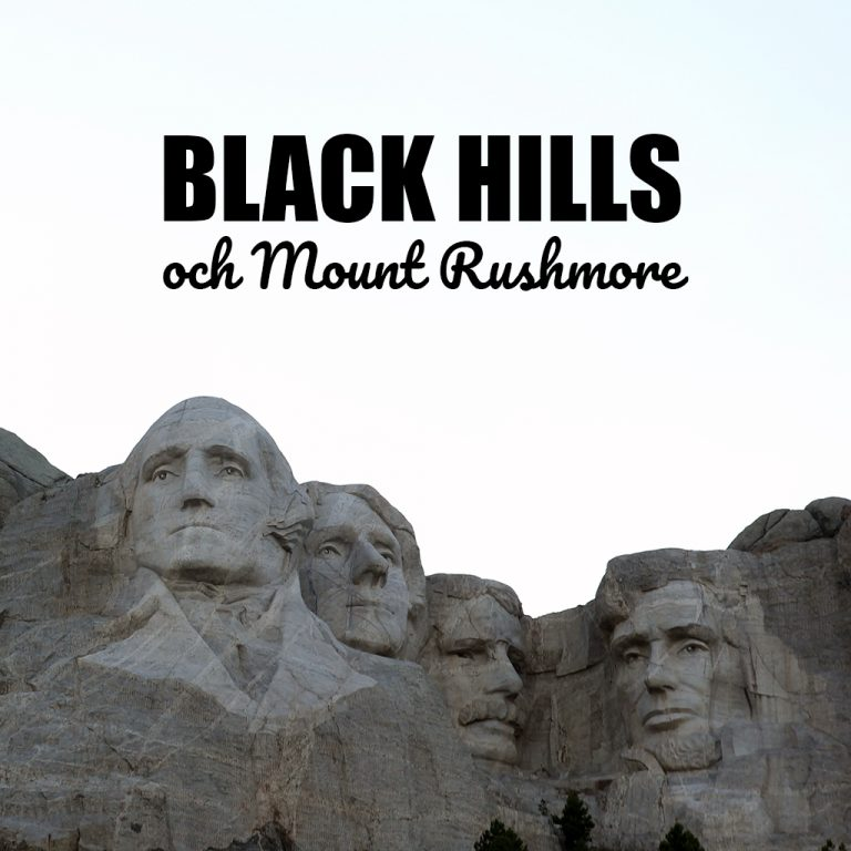 Black Hills och Mount Rushmore