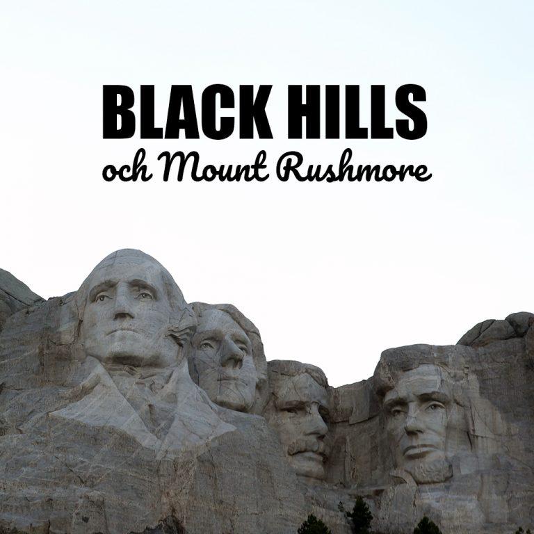 Black Hills och Mount Rushmore