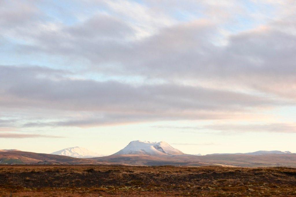 På väg längs Islands sydkust