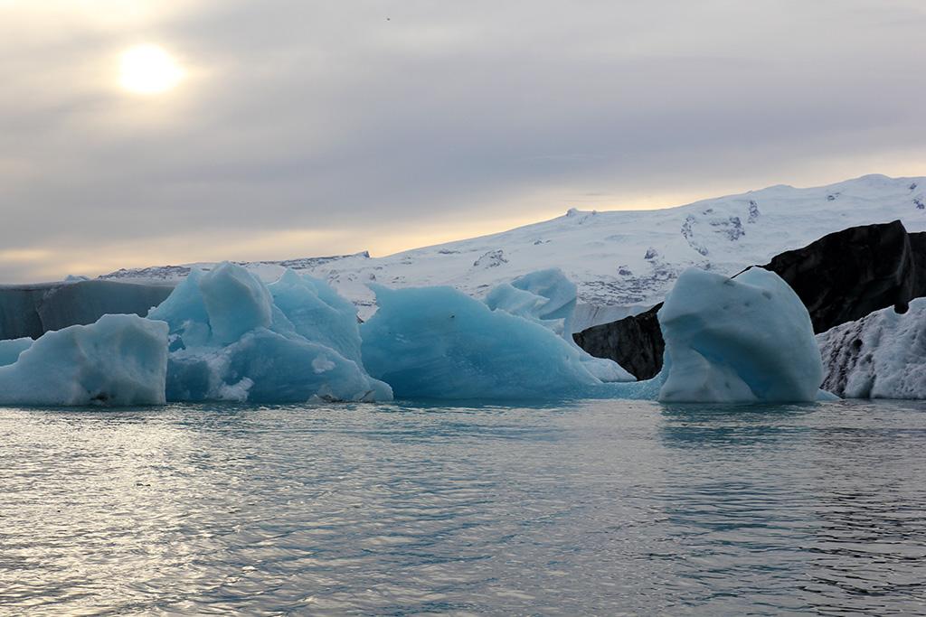 Glaciar lagoon Iceland