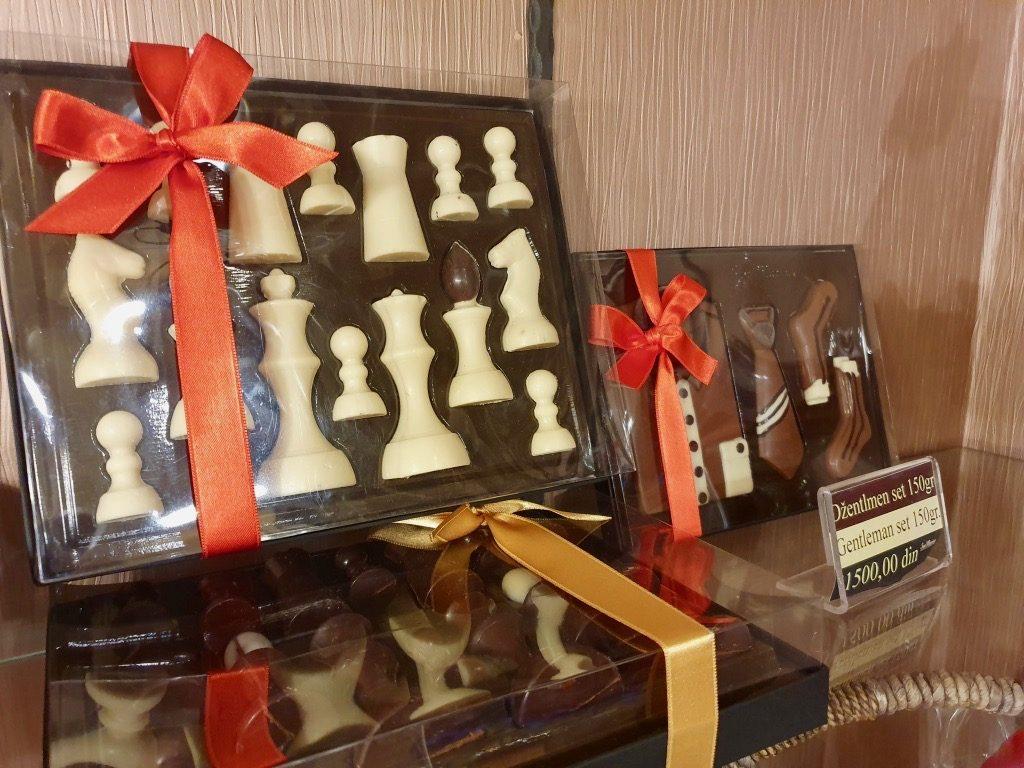 Choklad i Belgrad.