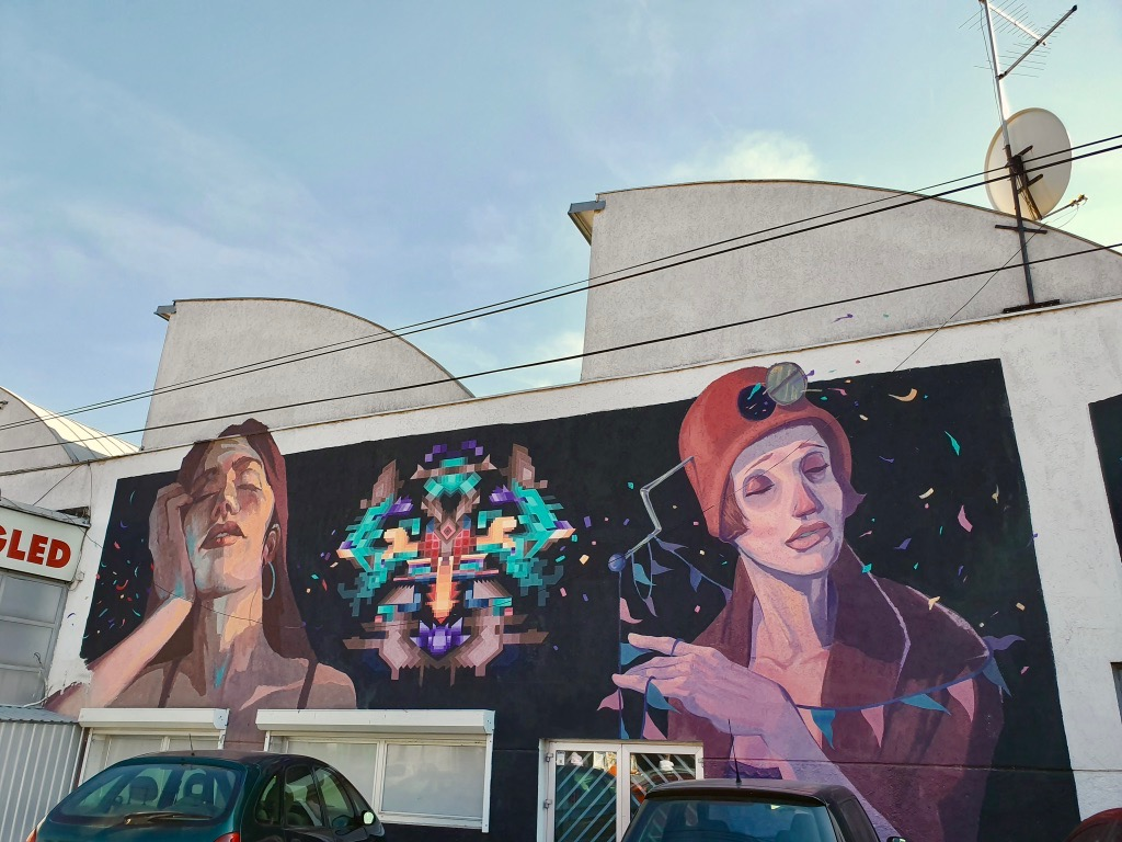 Streetart i Belgrad