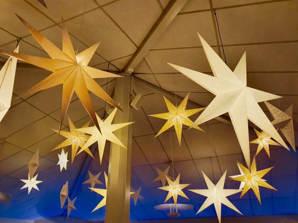 stjärnor julbord på stufvenäs