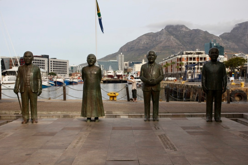Statyer på nobelpristagare