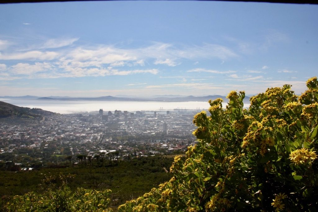Sydafrika.