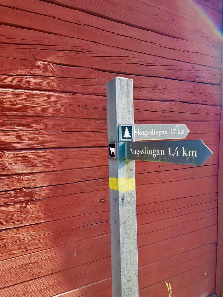Stensjö by. Vägvisare.