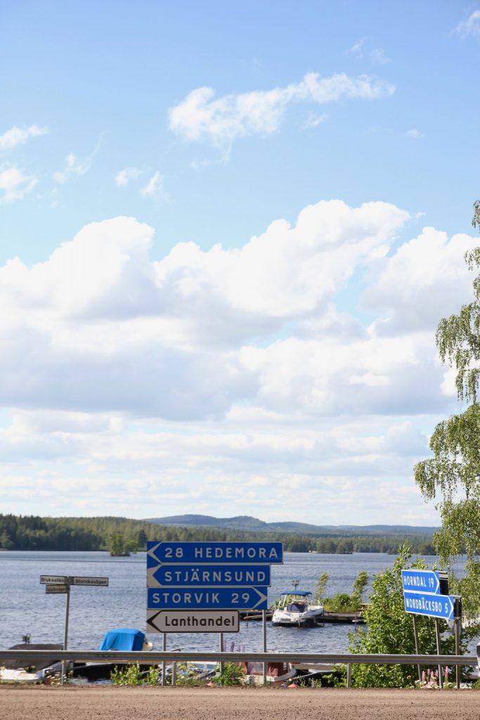 Stjärnsund på vår road trip i Sverige