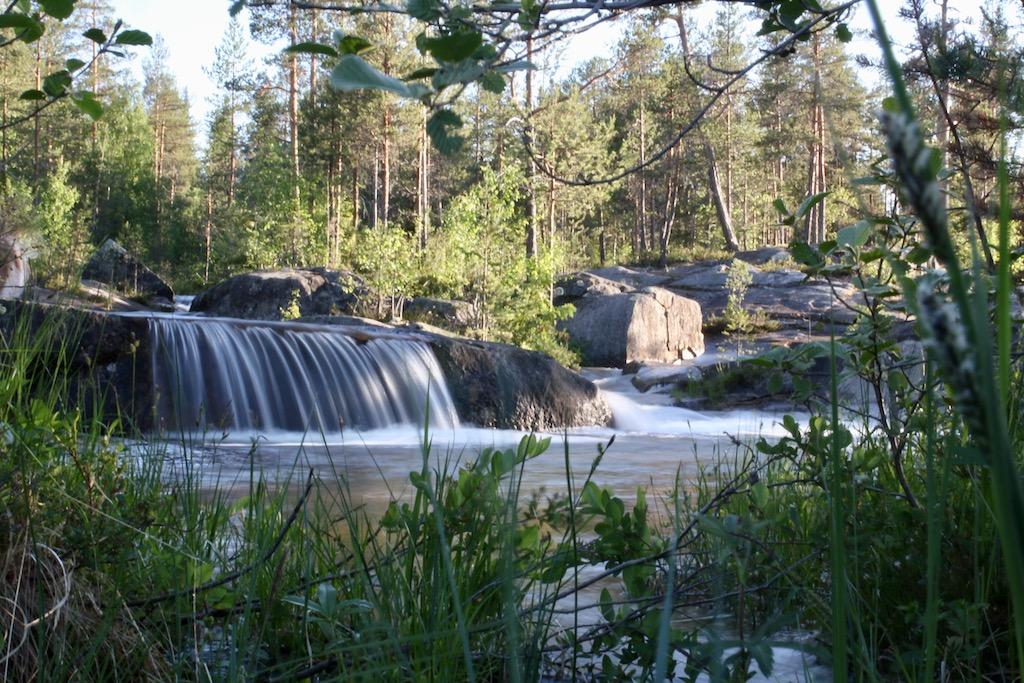 Storforsen, resa i Sverige