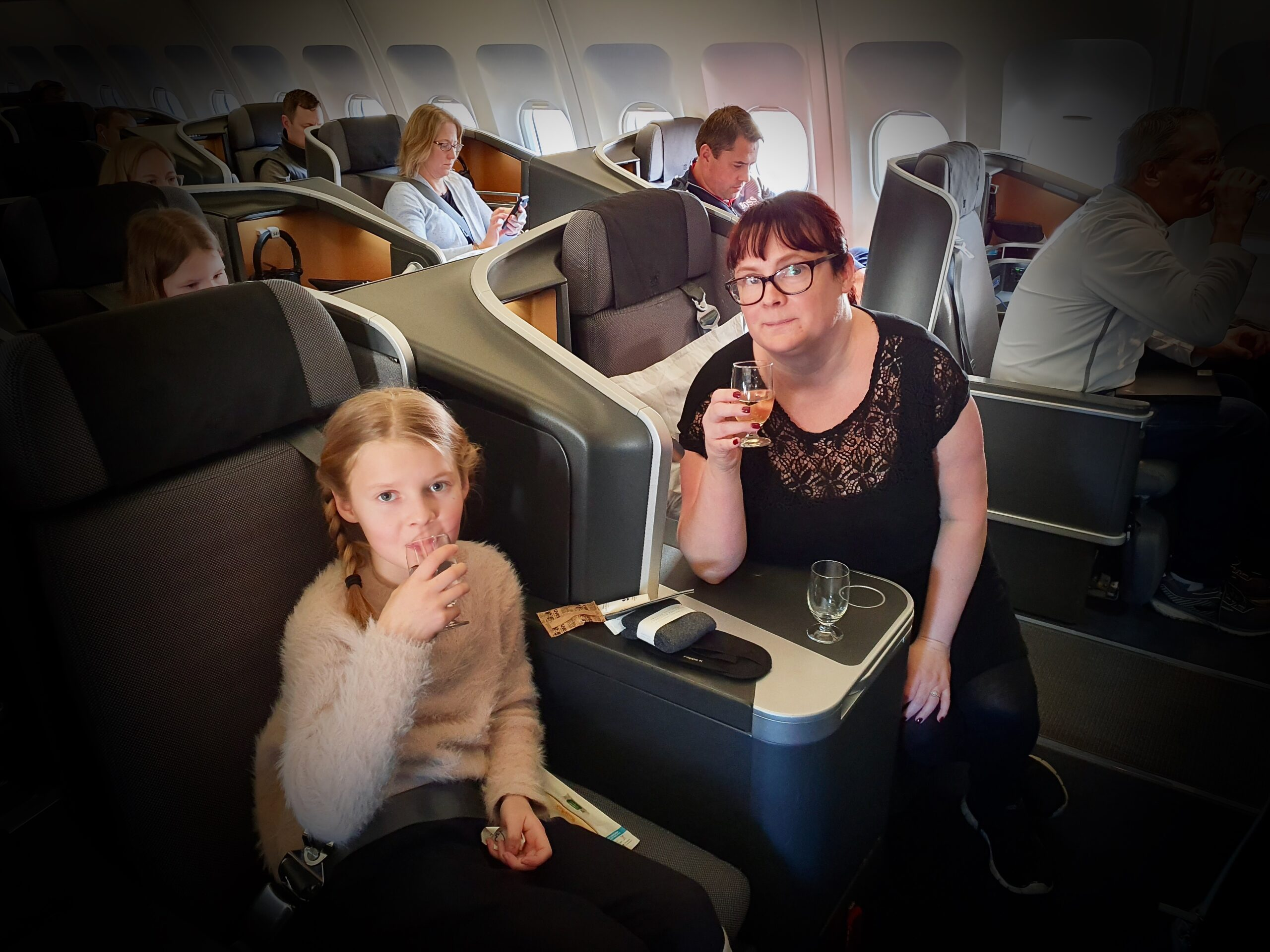 Bubbel i business class